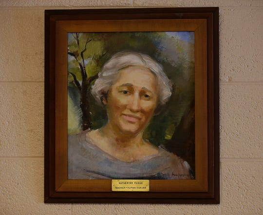 Katherine Evans is the namesake of Evans Elementary School.