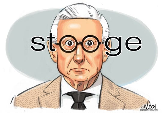 Roger Stone commentary by R.J. Matson