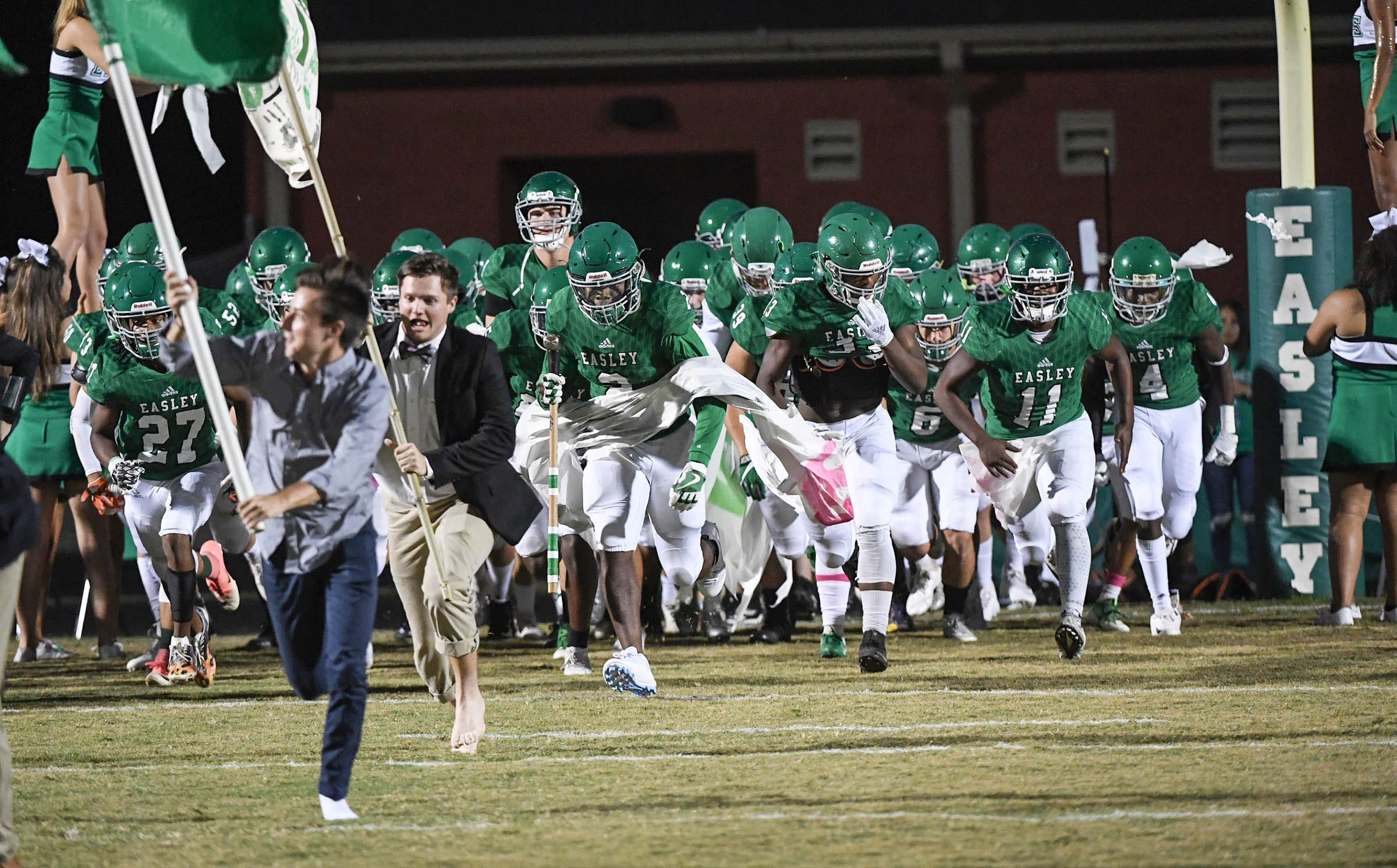 Easley High has a new football coach