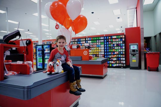 Jackson Duff picked Target for his fifth birthday, though his mom asked him many times if he was sure that's what he wanted. He wasn't having any other option.