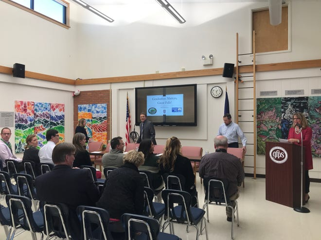 Administrators and staff of Great Falls Public Schools gathered together on Monday to discuss the 2018 graduation rates and share student success stories.