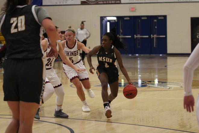 Former Great Falls High star Hannah Collins earned second-team all-GNAC honors as a sophomore point guard last winter.