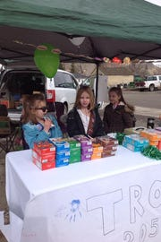 The Girl Scouts will begin taking orders for cookies on Feb. 1.