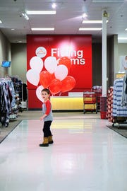 To the toy aisle! Jackson Duff celebrated his fifth birthday at Target in Great Falls.