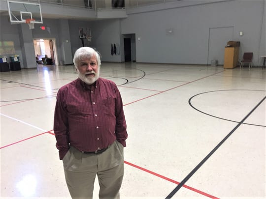 The Rev. Dr. Tim Hobbs, pastor at Community Baptist Church, says their gym-style sanctuary is ready to shelter anyone who needs warmth. Cots and blankets are available, and meals will be provided.