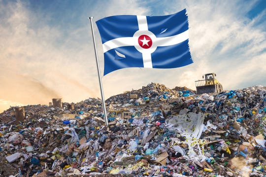 The city trails many other metropolitan areas in its recycling efforts. Only 7 percent of trash generated in Indianapolis goes on to be recycled into new products.
