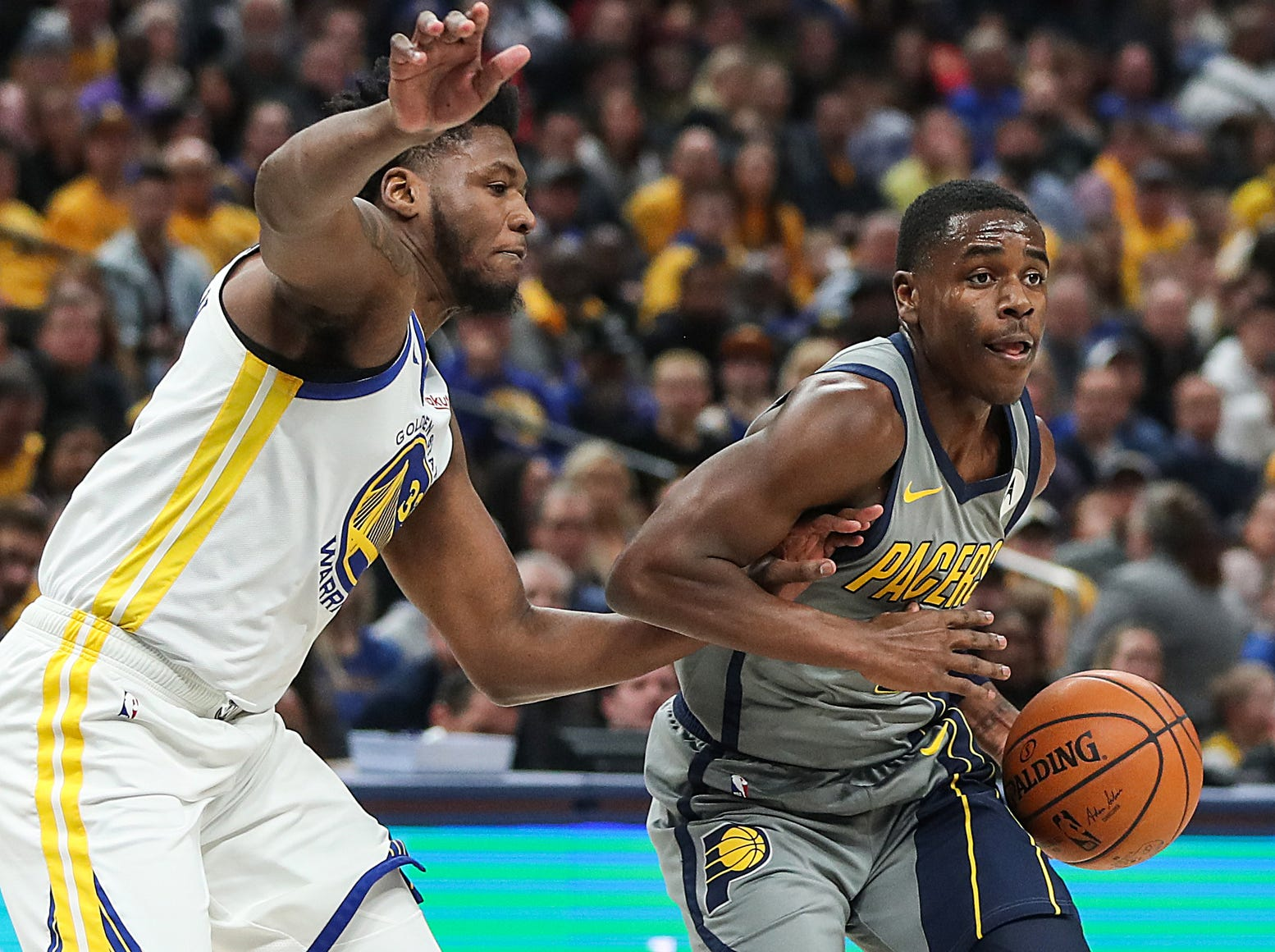 Doyel: With Victor Oladipo out, Pacers need to see what they have in Aaron Holiday, T.J. Leaf, Edmond Sumner