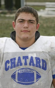 Bishop Chatard lineman Zack Martin