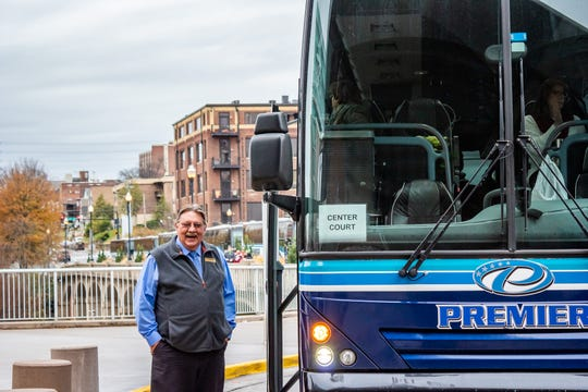 Knoxville-based Premier Transportation has 25 buses headed for the Super Bowl on Sunday in Atlanta. Five will transport individuals from the New England Patriots organization.