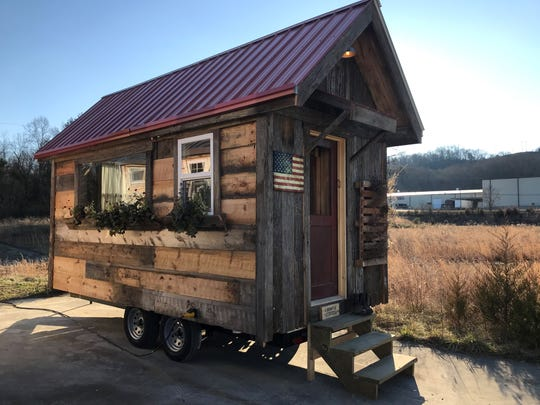 Incredible Tiny Homes is building a tiny home community in Newport, Tennessee. This is an example of one of their tiny homes.