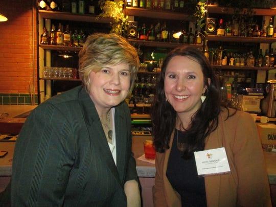 Amy Jones and Anita Begnaud