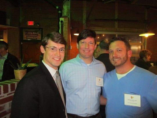 Steven Matt, Jason Matt and Jared Guilliot