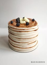 A pancake cake from Baking Bros.