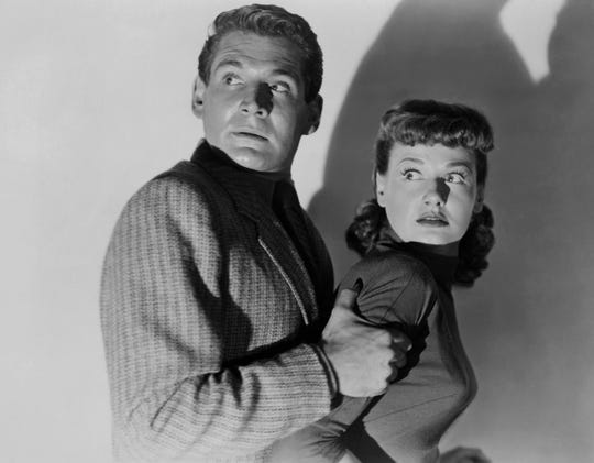 "You'll find out why Gene Barry and Ann Robinson look so scared if you attend ""War of the Worlds"" (1953) at 4 p.m. Saturday or Sunday at the Memphis Pink Palace Museum."