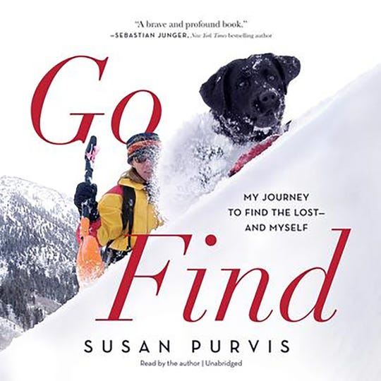 """Go Find: My Journey to Find the Lost – and Myself"" by Susan Purvis."