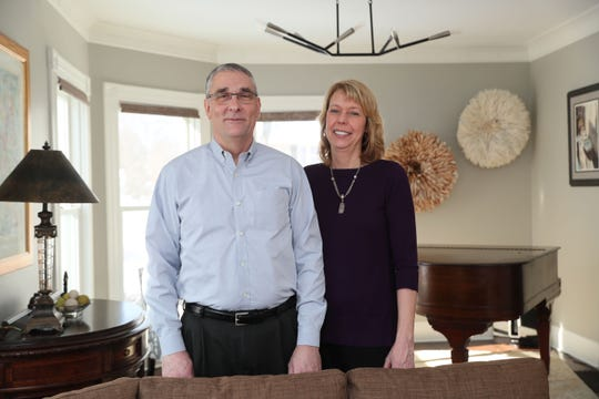 Mark Blumenberg and Beth Jaworski made extensive changes to their Wauwatosa home.