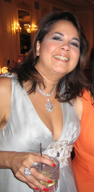 "Sujata ""Sue"" Sachdeva at a Big Brothers/Big Sisters Gala Dinner in 2008."