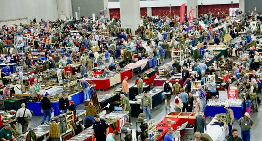 The Show of Shows in Louisville, Kentucky, bills itself as the largest military antiques show in the world.
