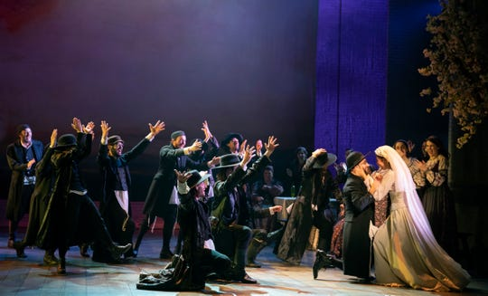 """The national touring company of """"Fiddler of the Roof"""" is at Milwaukee's Marcus Center for performances through Feb. 17. Israeli choreographer Hofesh Shechter has refreshed the show's dance and movement."""