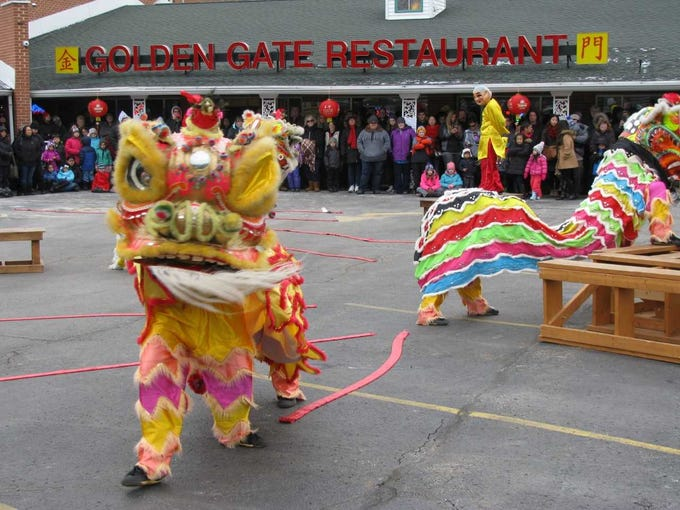 Celebrate the Chinese New Year at Golden Gate Restaurant in Waukesha with a free lion dance show and over 200,000 firecrackers from 1:30 to 2:30 p.m. Feb. 9.
