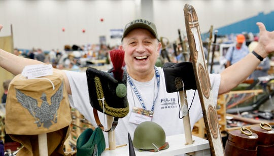 More than 750 military antiques vendors are expected at the Show of Shows in Louisville, Kentucky.