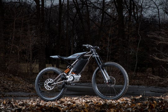 One of Harley-Davidson's concept electric motorcycles could appeal to offroad riders.