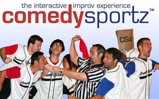 ComedySportz is bringing its show to the OAC's Little Theater at 6:30 p.m. Saturday, March 9.