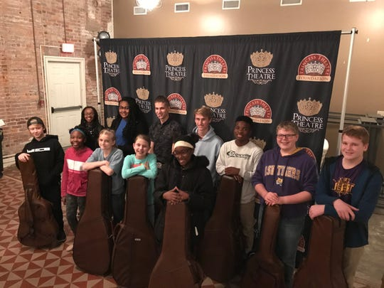 """""""Music on Main"""" is a program funded by a grant from the CMA Foundation to provide guitar lessons and guitars for 15 local students."""