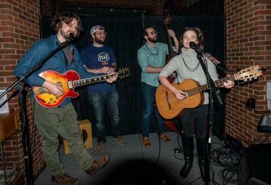 The band Electric Blue Yonder will play Taco Libre on Saturday.