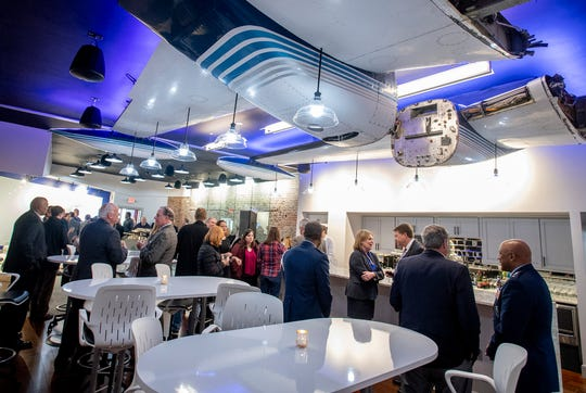 The public opening of MGMWERX, the Air Force innovation center, is held in downtown Montgomery, Ala., on Tuesday January 29, 2019.