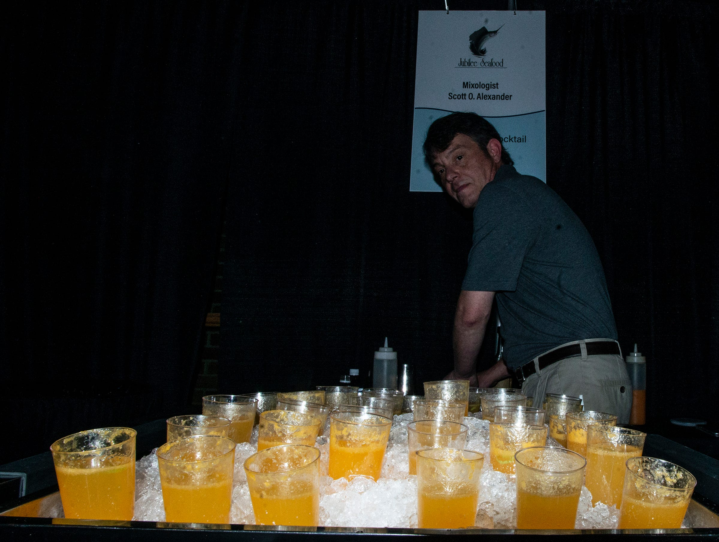 Jubilee Seafood presented L.A. Satsuma Cocktails. The annual Feast of Flavours was held Monday, Jan. 28, 2019, at Alabama Shakespeare Festival in Montgomery.
