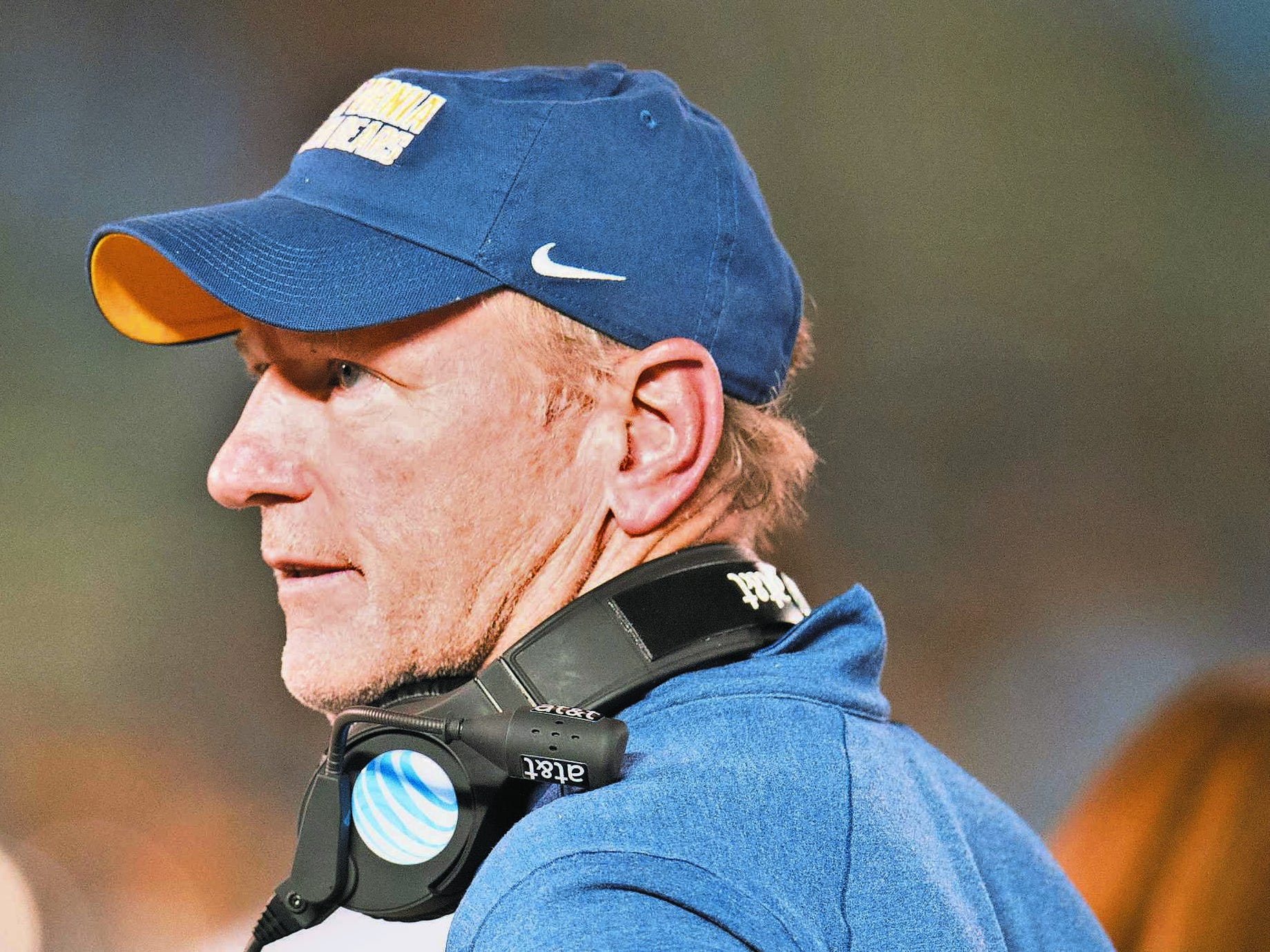 MTSU offensive coordinator Tony Franklin during his time at Cal