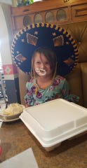 Graycee Davis, 6, was killed in a house fire in Hickman County early on Monday morning.