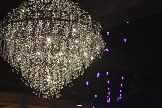 Full-service caterers Erica Jones and Orville Campbell included chandeliers, Bistro Lights and Smart Track Lights that can change color in Magnolia Springs. The wedding and event venue is at 1203 Old Hydes Ferry Pike in Ashland City.