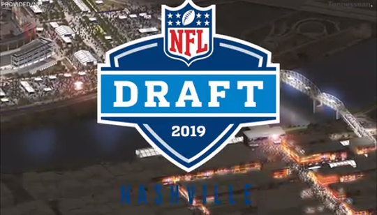 The NFL has released the renderings for the 2019 NFL Draft, which will be held in Nashville. The event is going to be a fully outdoor event downtown.