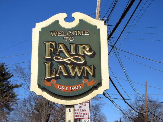 Welcome to Fair Lawn sign.