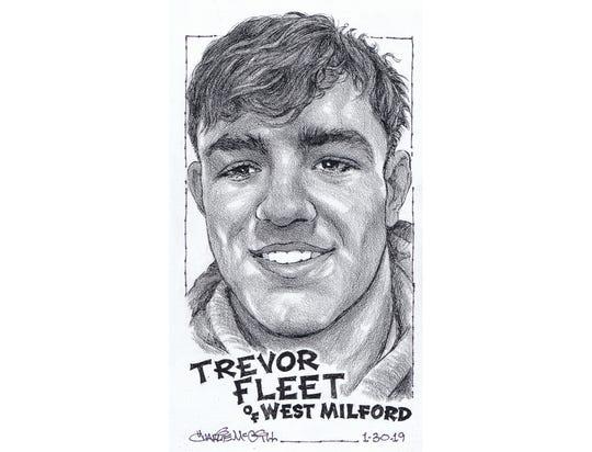 Trevor Fleet, West Milford wrestling