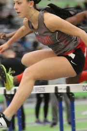Senior Grace Yost and the Lakeland Regional girls' track & field team won the small school division at Saturday's Season Opener Invitational at River Dell High School.