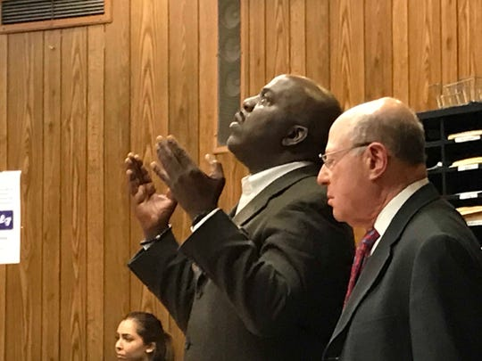 Derrick Chestnut praised God after he is acquitted of sexual assault charges in 19-year-old rape case.