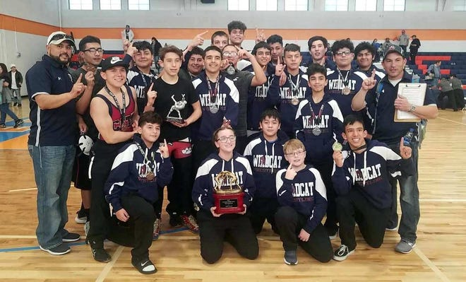 The Red Mountain Middle School Wildcats registered a team tournament championship at the Los Lunas Invitational on Saturday, Jan. 26. The team is comprised of seventh and eighth graders.