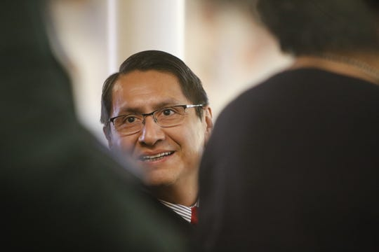 Navajo Nation President Jonathan Nez outlined priorities for his administration in the State of the Nation address to the Navajo Nation Council on Monday.