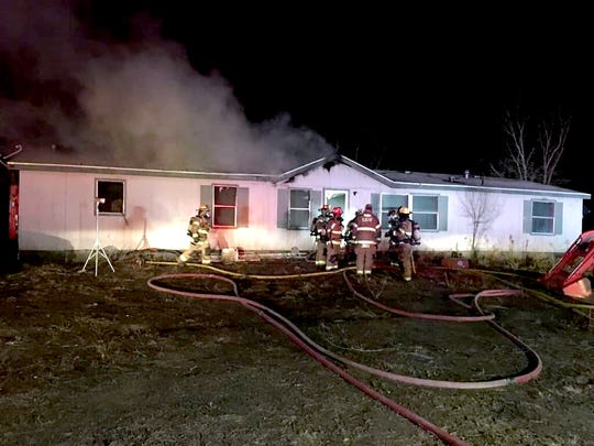 The San Juan County Sheriff's Office identified 47-year-old Gordon Jones as the person found deceased inside this Bloomfield home Saturday following a house fire.