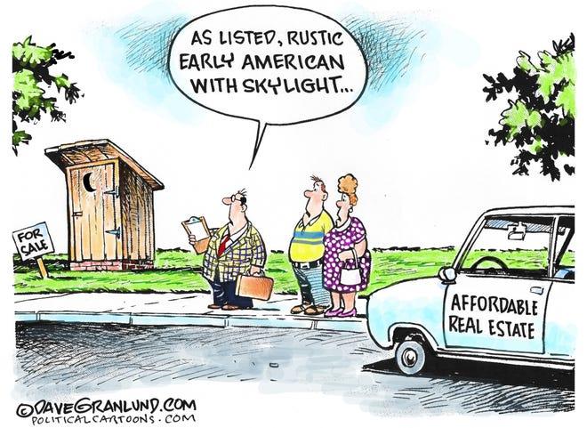 Dave Granlund drew this cartoon.