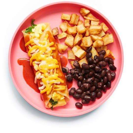 Yumble's Breakfast Enchilada