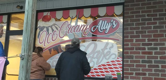 Ice Cream Ally's Coffee Cafe in Littlestown will open in about two weeks.