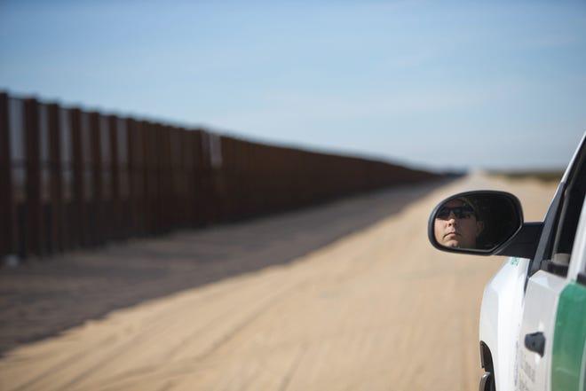 Border Patrol agents apprehended 242 migrants in the Arizona desert west of Lukeville.