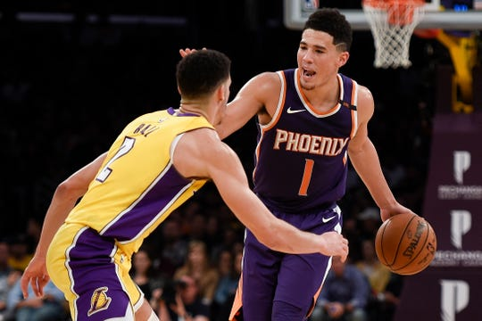How would Lonzo Ball and Devin Booker look in the same backcourt?