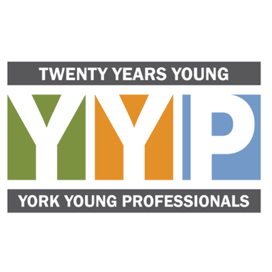 York Young Professionals logo, 20th anniversary edition