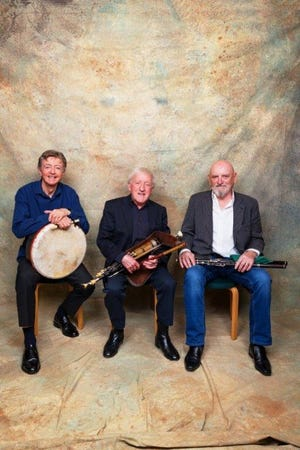 The Chieftains, a Grammy award winning Irish band, will play at the Strand Theatre on Wednesday, Feb. 27 at 7:30 p.m. (Photo courtesy of The Chieftains).