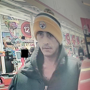 Manheim Township Police are interested in the identity of this man, suspected of taking body spray from a Weis Market.